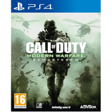Игра Call of Duty: Modern Warfare Remastered (PS4)