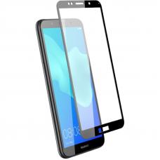 Защитное стекло 3D для Huawei Y5 Lite Черное (Тех.Упаковка)