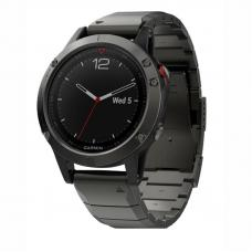 Garmin Fenix 5 Plus Sapphire Gray / Metal Band