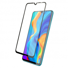 Защитное стекло 3D для Huawei P30 Lite Черное (Тех.Упаковка)