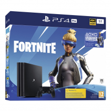 Sony PlayStation 4 Pro 1TB Jet Black + Доп.материал Fortnite