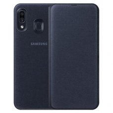 Чехол Samsung Galaxy A30 Wallet Cover Black